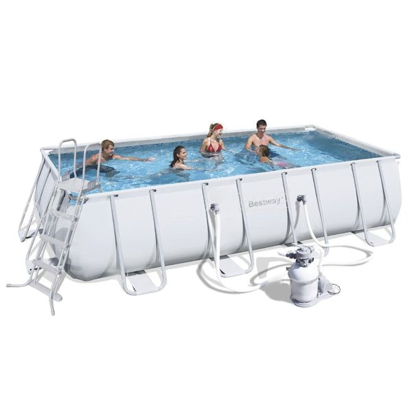 Piscina Bestway Power Steel 549x274x122