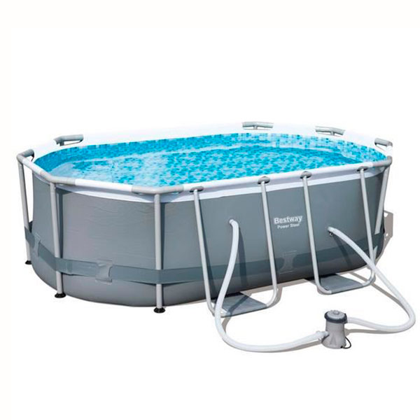 Piscina Power Steel oval 300x200x84cm