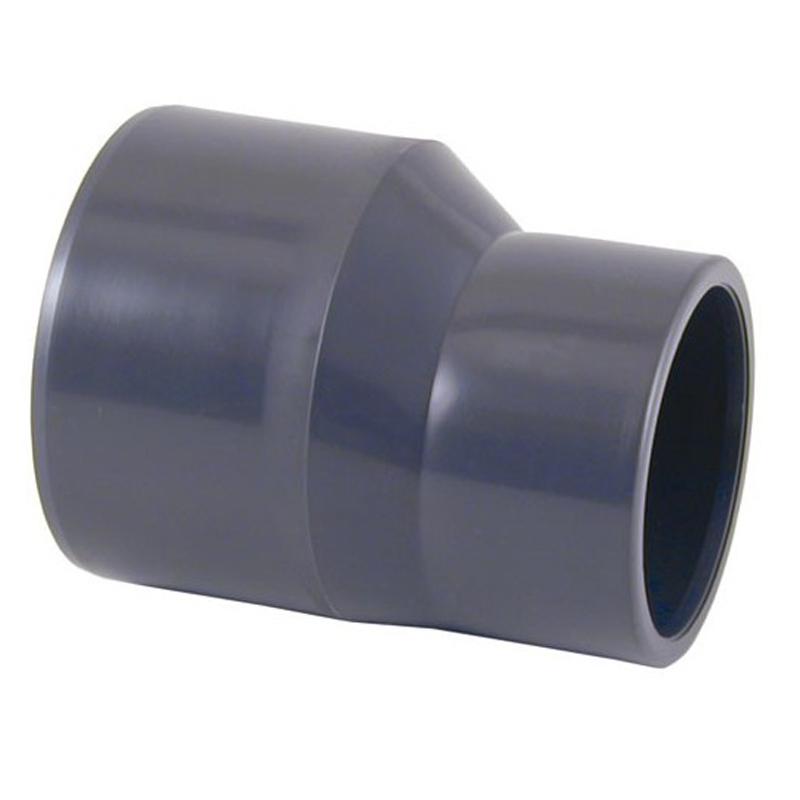 Reducción cónica excéntrica PVC Ø90 - 75 x 63 - 09030