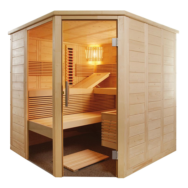 Sauna Alaska Corner Kombi