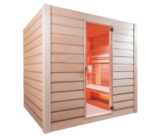 Sauna de vapor Combi Sel