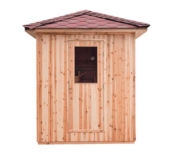 Sauna tradicional de exterior Eden