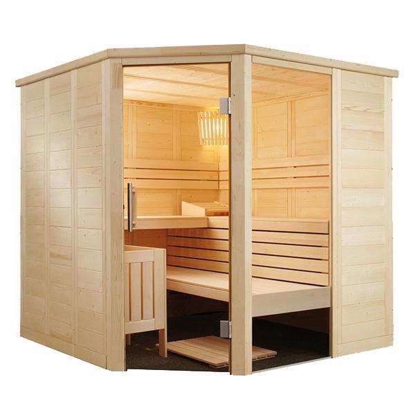 Sauna de Vapor Alaska Esquinera