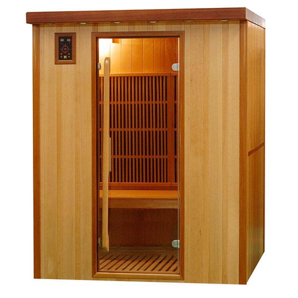 Sauna Infrarrojos Koulou 3 Plazas