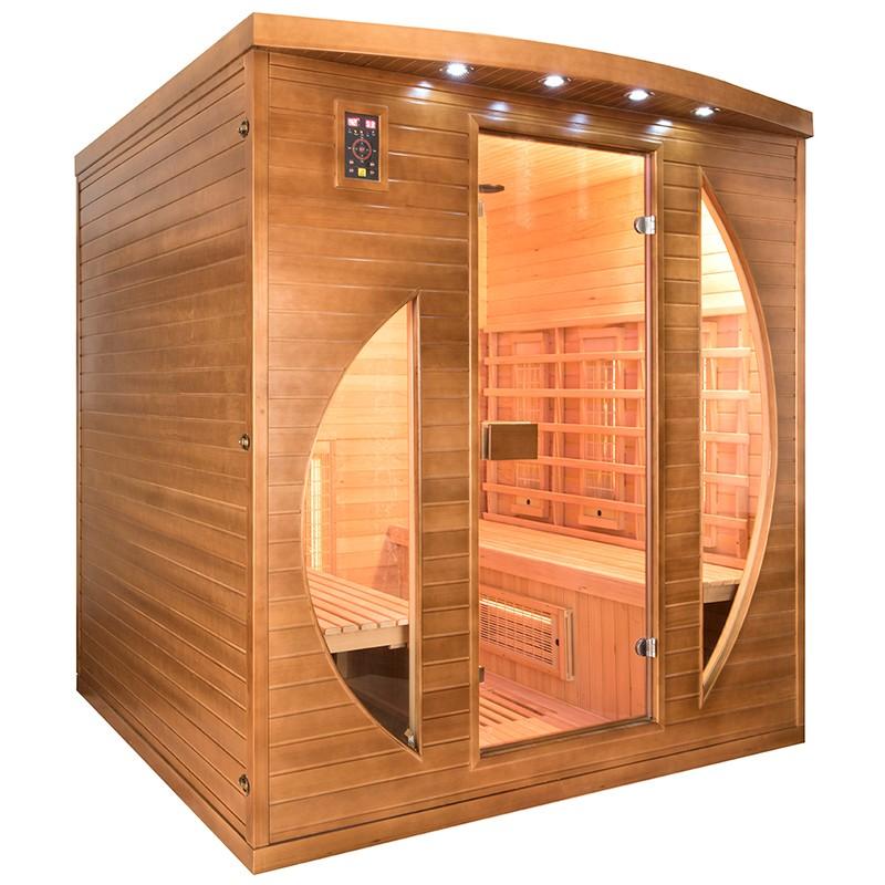 Sauna de infrarrojos Spectra 4 plazas