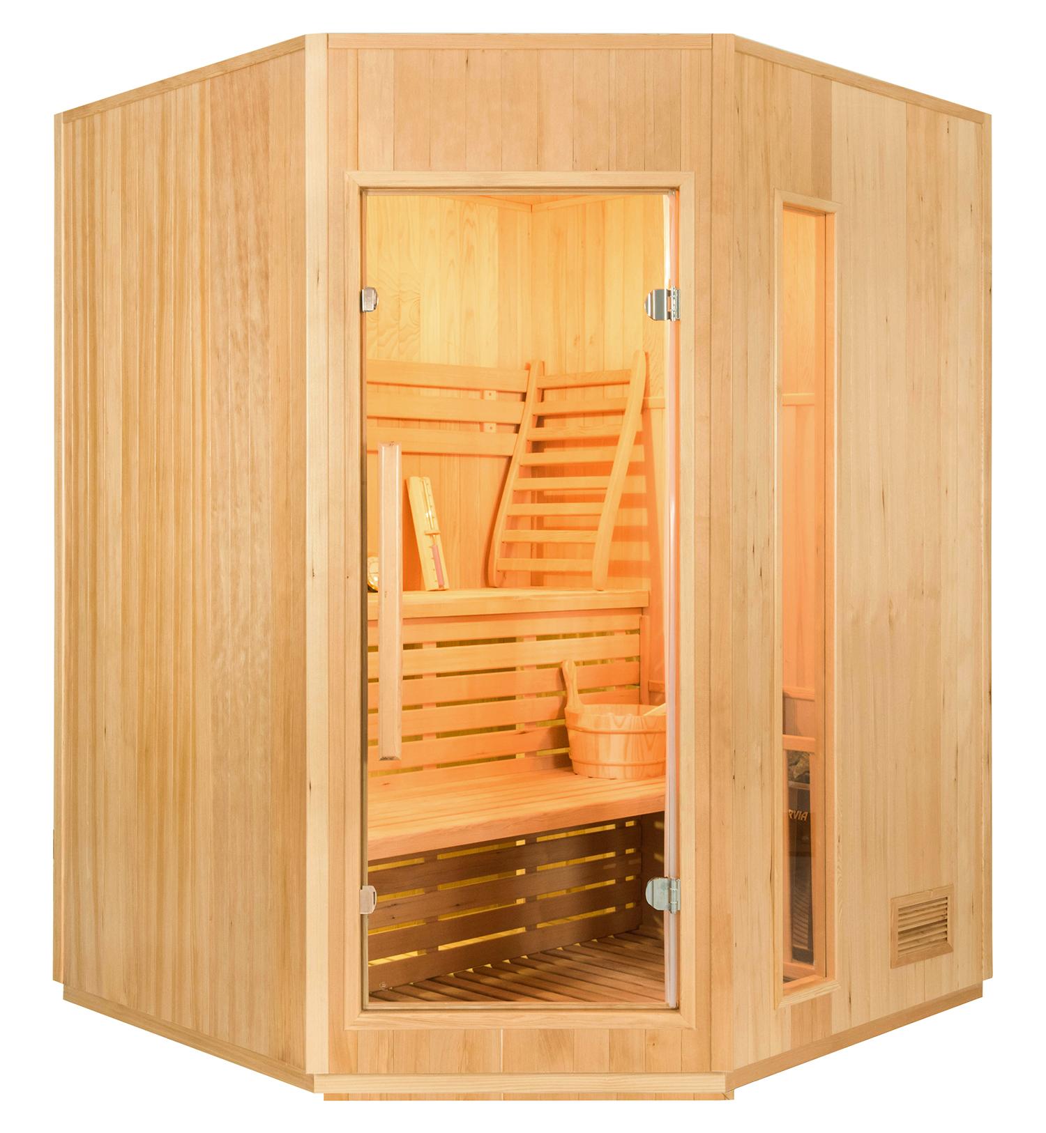 Sauna de Vapor Zen Angular - 3 a 4 Personas