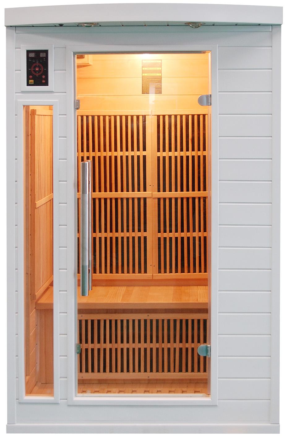 Sauna infrarrojos Soleil Blanc 2 Personas
