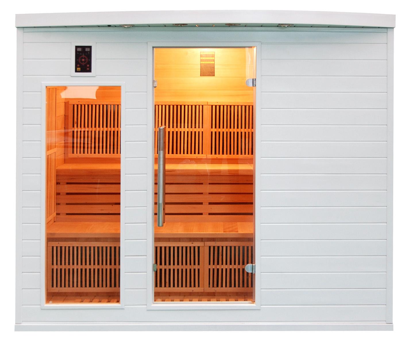 Sauna infrarrojos Soleil Blanc 5 Personas