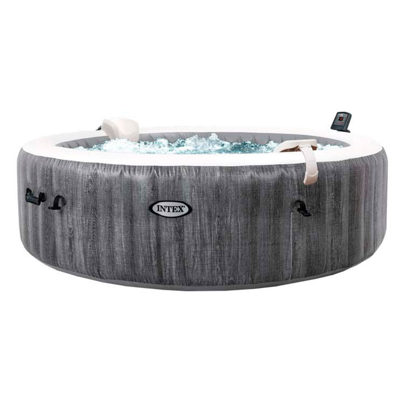 Spa hinchable Intex Purespa Greywood 6 personas