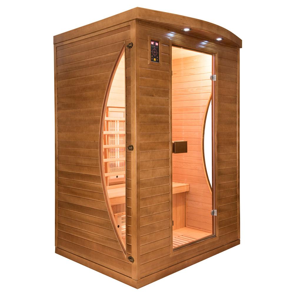Sauna de infrarrojos Spectra 2 plazas