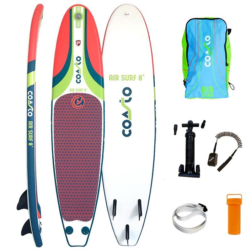 Tabla de Surf hinchable Air Surf 8 quillas desmontables
