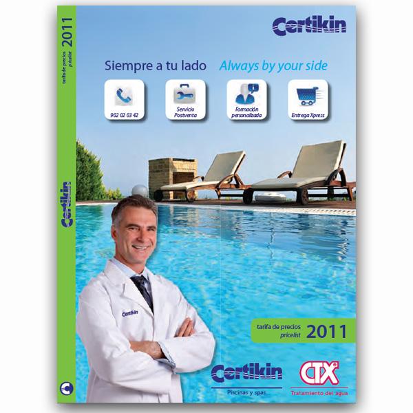 Catálogo Tarifa Certikin CTX 2011