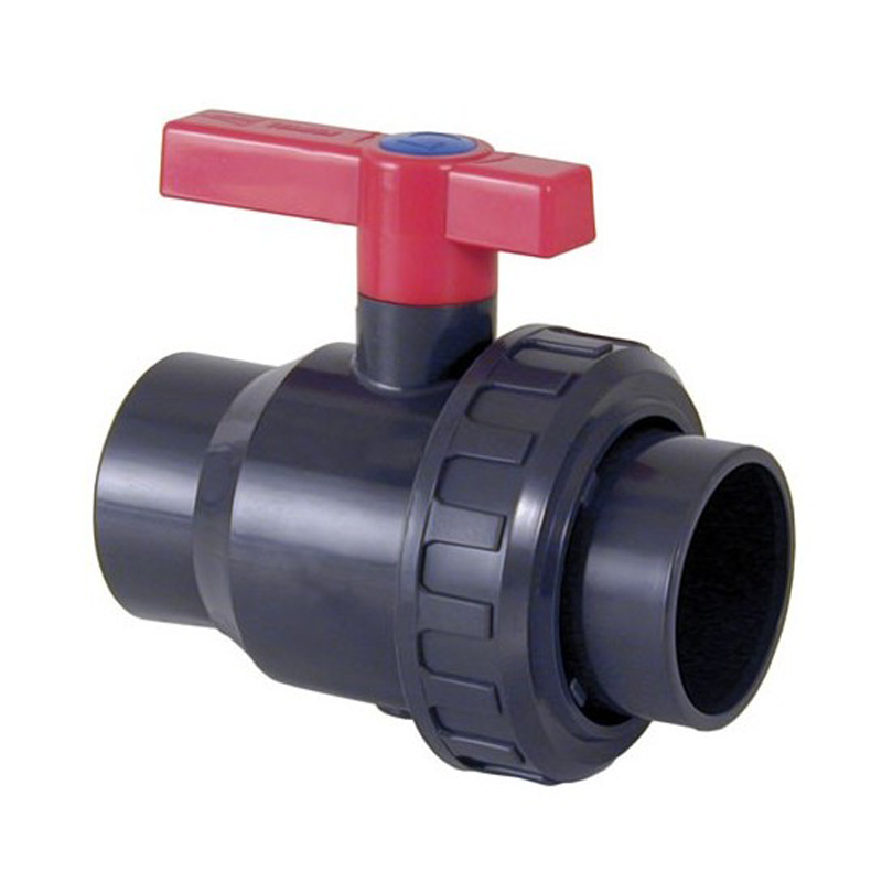 Válvula de bola Uniblock PVC PE-EPDM encolar