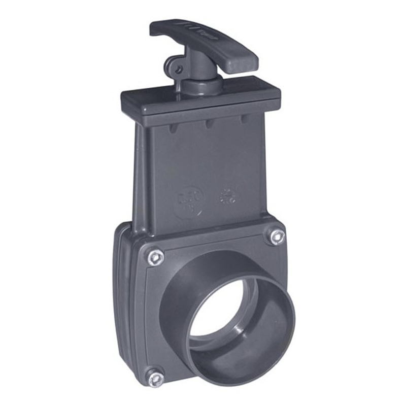 Válvula guillotina encolada PVC Cepex