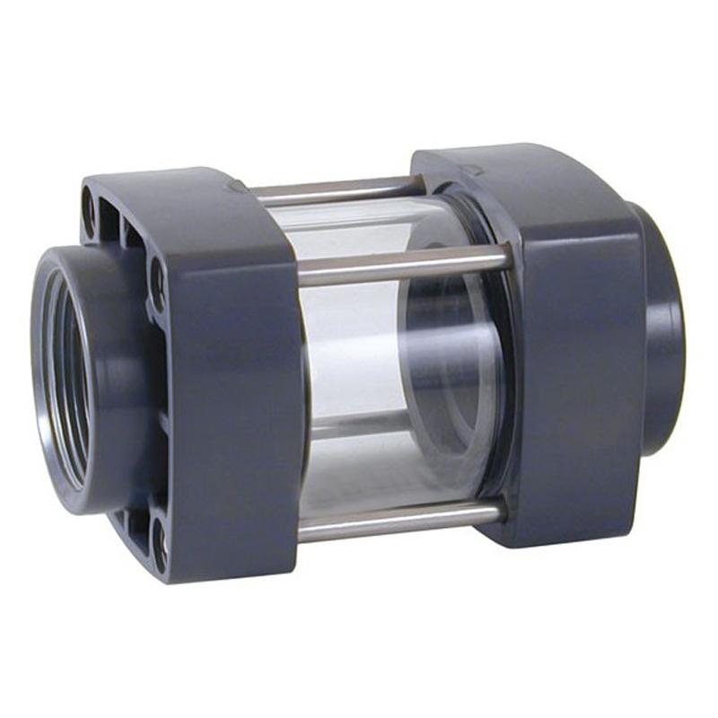 Visor de líquido roscar PVC