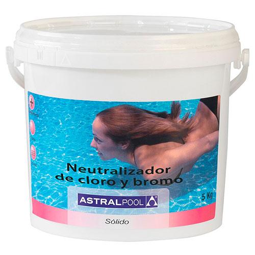 Neutralizador de cloro y bromo astralpool outlet piscinas for Bromo para piscinas
