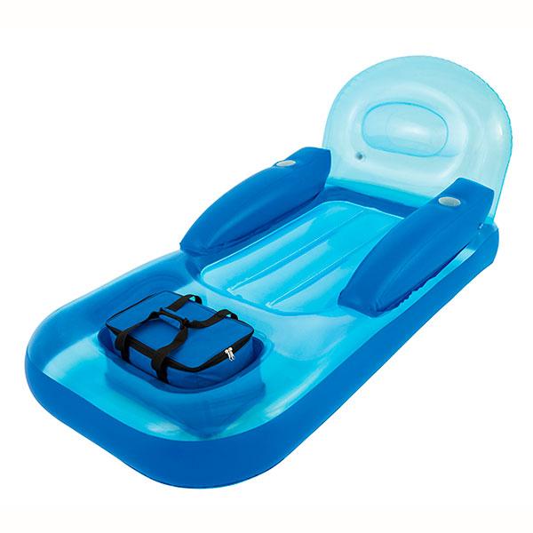 Colchoneta lounge con nevera flexible outlet piscinas - Colchonetas piscina decathlon ...