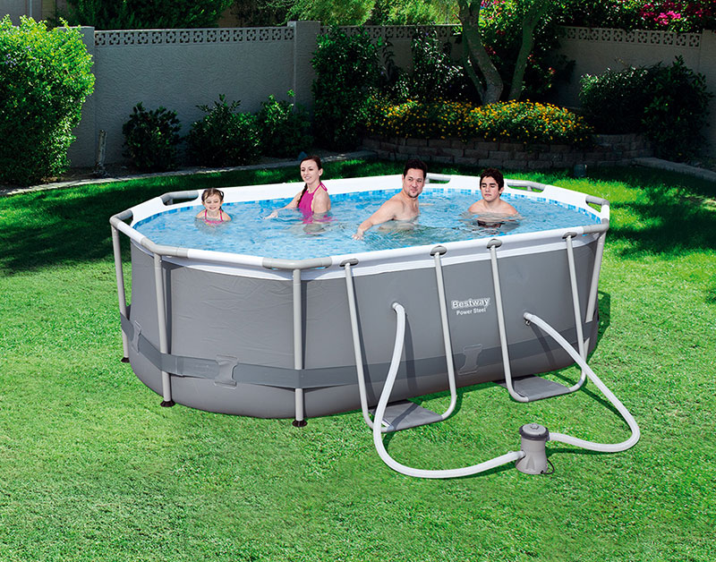 Piscina Power Steel 300x200 Bestway