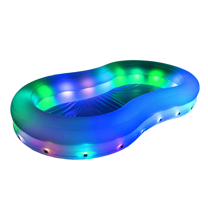 Piscina hinchable iluminada led 54135 outlet piscinas for Piscinas hinchables grandes
