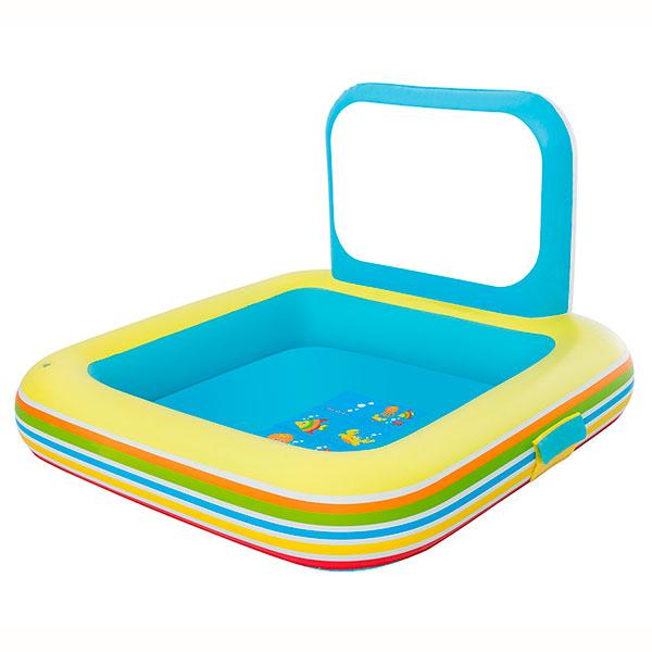 Piscina de juegos con pizarra bestway outlet piscinas for Piscinas bestway opiniones