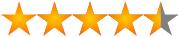 4,5 estrellas para fabricante intex