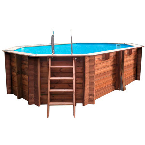 Comprar piscinas elevadas de madera
