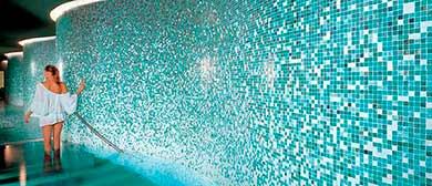 Outlet piscinas for Gresite blanco piscinas