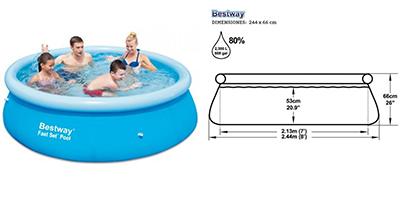 Cu nto espacio es necesario para una piscina outlet Piscinas bestway medidas