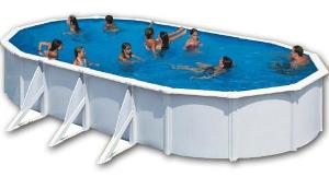 piscinas desmontables elevadas de acero