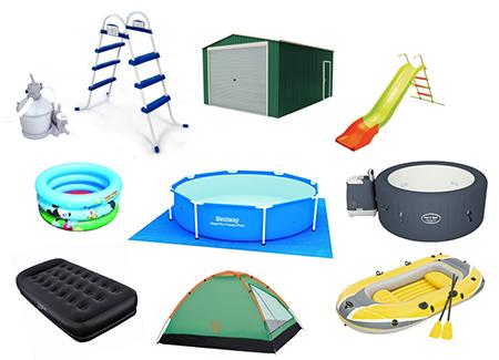 gama de productos del fabricante bestway