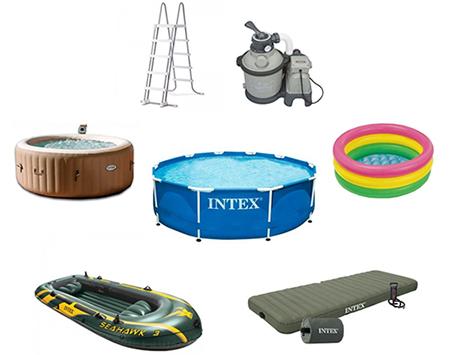 gama de productos del fabricante intex