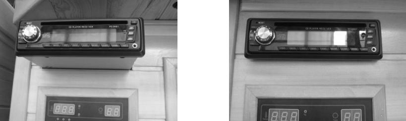 reproductor cd Saunas infrarojos