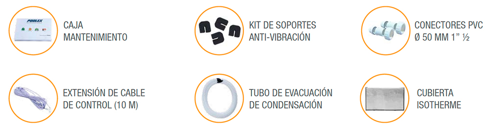 caracteristicas de la Jetline Selection poolex