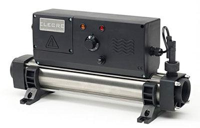 calentador eléctrico elecro para piscina