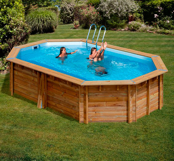 Piscina madera gre grenade outlet piscinas for Depuradora piscina desmontable