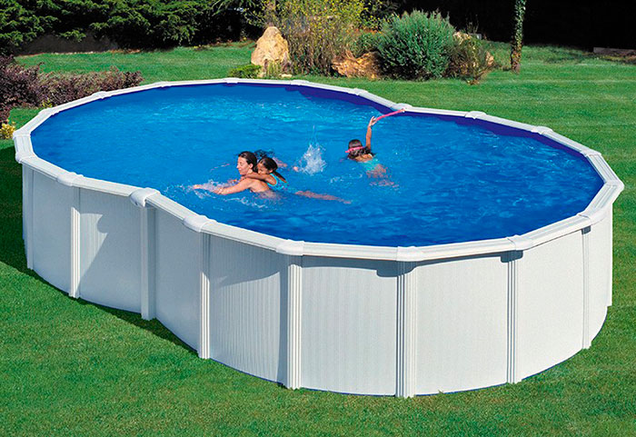 Montaje piscina gre redonda perfect como enterrar piscina for Depuradora piscina gre
