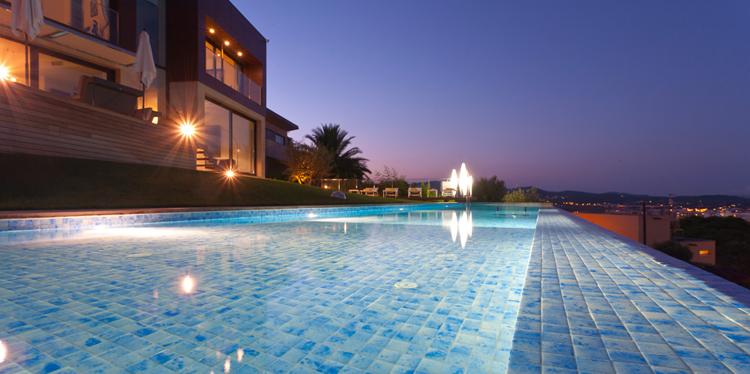 Foco gre 144 leds blanco outlet piscinas for Foco piscina