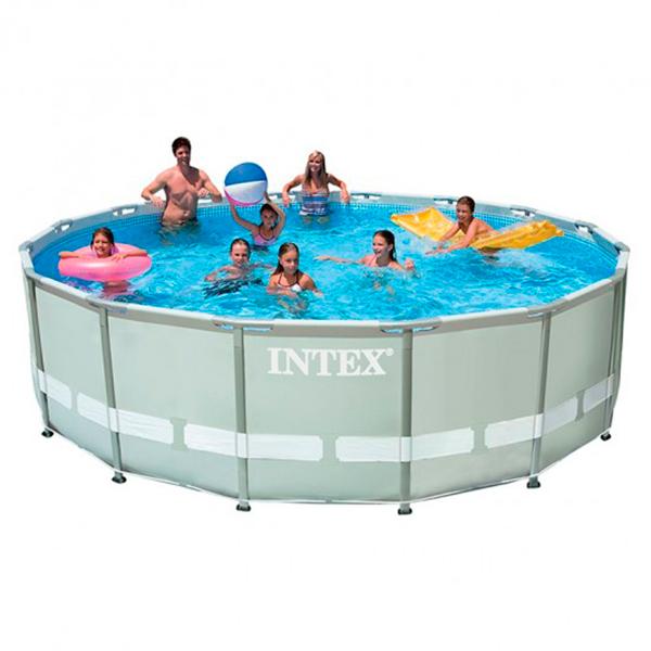 Piscina ultra frame 488 x 122cm intex outlet piscinas for Piscinas intex modelos y precios