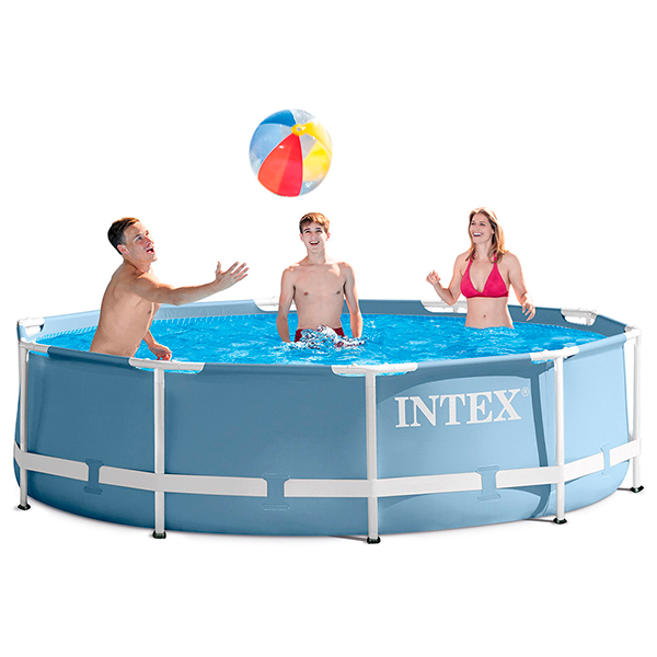 Piscina intex prisma frame 366x76cm outlet piscinas for Interrare piscina intex