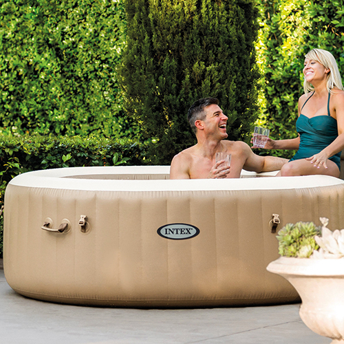 Spa hinchable purespa Intex 4 plazas