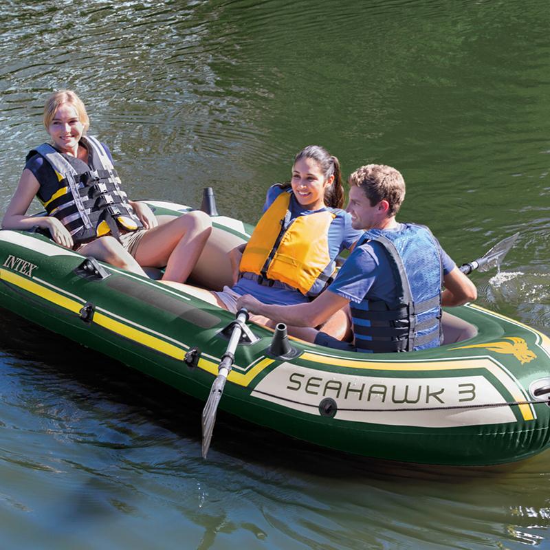 Barca hinchable seahawk 3 de intex outlet piscinas for Normativa piscinas canarias