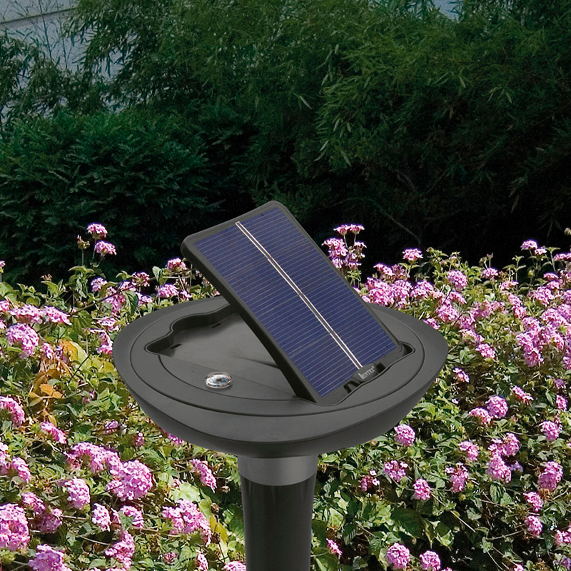 L mpara solar led para jard n intex outlet piscinas for Lamparas led para jardin