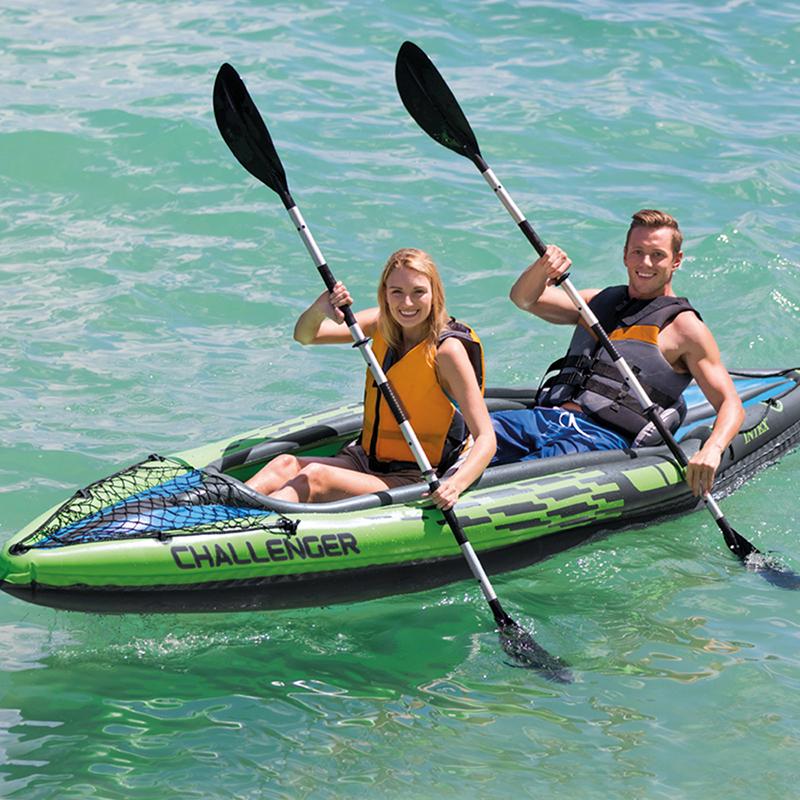 Kayak challenger k2 intex outlet piscinas for Piscina canoe