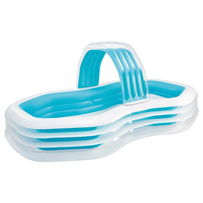 Piscina hinchable cabana intex outlet piscinas for Parches para piscinas intex