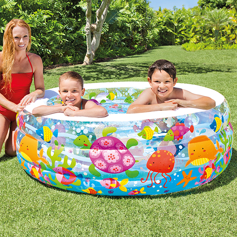 Piscina hinchable acuario intex outlet piscinas - Piscinas hinchables para ninos ...