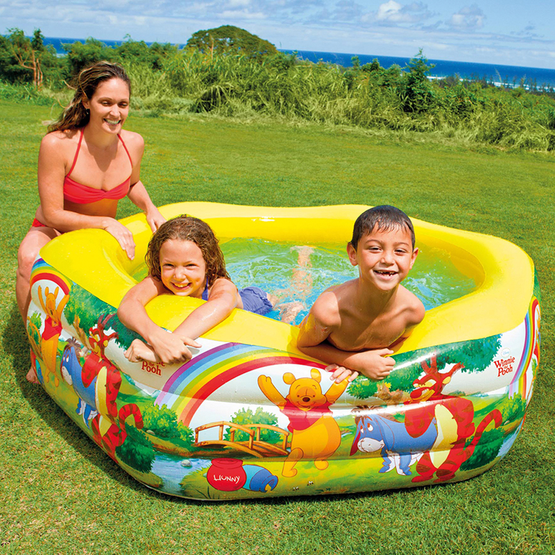 Piscina hinchable winnie the pooh outlet piscinas for Parches para piscinas intex