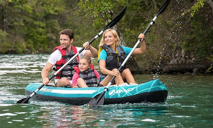Kayak hinchable almeda 3p 2000026700 outlet piscinas for Piscina canoe
