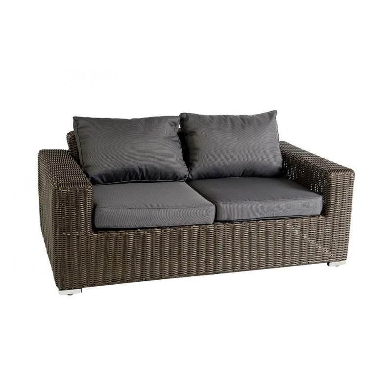 Sof de exterior bruno 66397 1x outlet piscinas for Sofa exterior aluminio