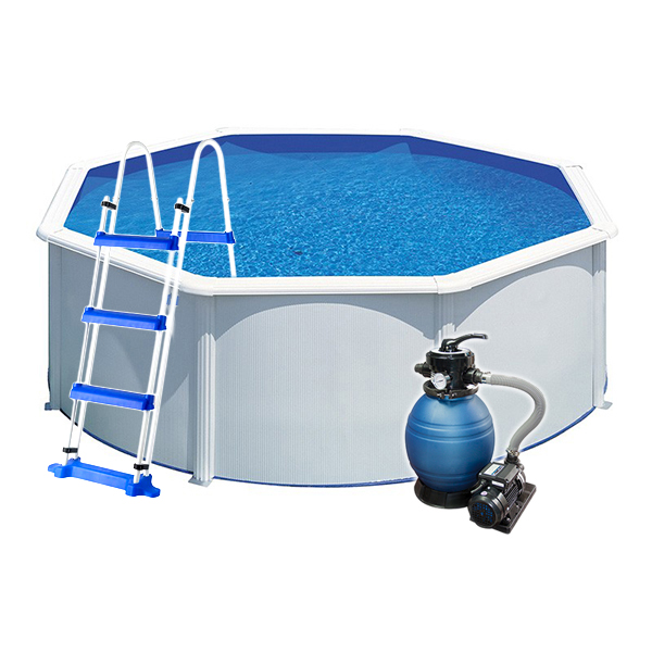 Piscina desmontable redonda wet outlet piscinas for Piscina desmontable acero