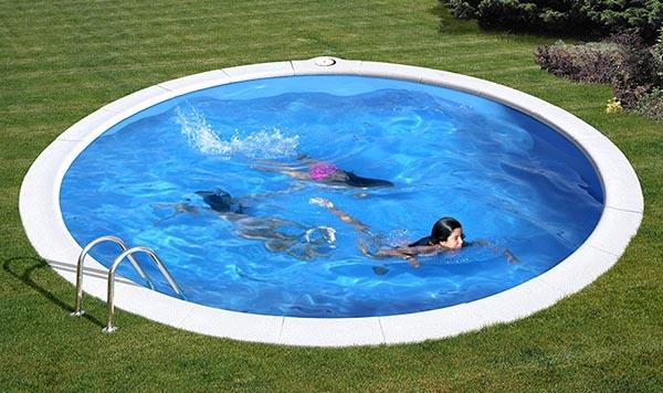 Piscina enterrada gre madagascar outlet piscinas for Kit piscina hormigon
